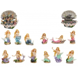 Mermaids on Coral & Shell Display Pack