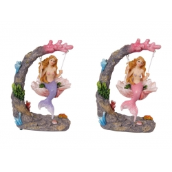 Mermaid on Coral & Shell Swing