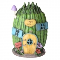 Fairy Garden Solar Light House (Vege)
