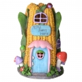 Fairy Garden Solar Light House (Corn)