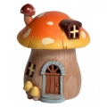 Fairy Garden Light Up Mushroom Cottage