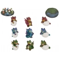Hatching Baby Dragons & Base Display Pack