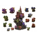 Dragon Guardians & LED Castle Display Pack
