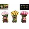 Fairy Garden Solar Light Flower House