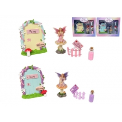 Fairy Garden Miniatures Door Gift Pack