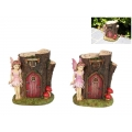 Fairy Garden Tree House with Fairy