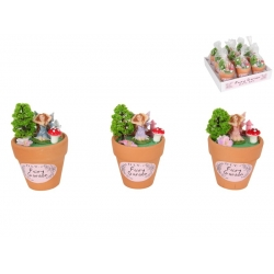 Fairy Garden Miniatures Flower Pot (5pc/Pot)