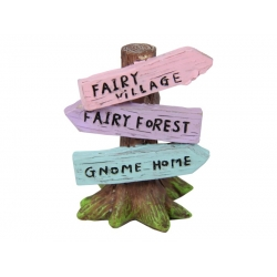Fairy Garden Tree with Signs