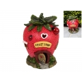 Fairy Garden Strawberry House with Ladybugs