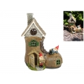Fairy Garden Boot House with Gnomes