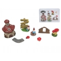 Fairy Gnome Garden Miniatures Gift Pack (8pc/Pack)