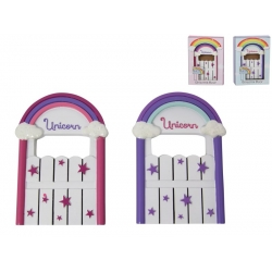 Fairy Garden Unicorn Door in Gift Box