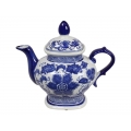 Blue Willow Teapot (Large)