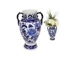 Blue Willow Decor Vase/Urn (Large)