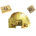 Gold USD$100 Design Playing Cards Deck