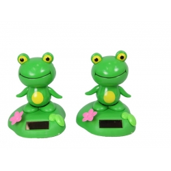 Solar Powered Frog Groover