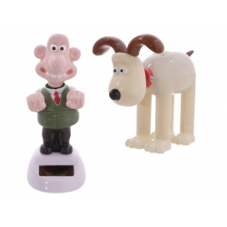 Solar Powered Wallace & Gromit Groover