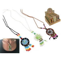 Dream Catcher Necklace on Gift Card
