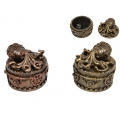 Steam Punk Octopus Trinket Box