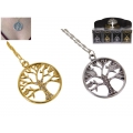 Gold/Silver Tree of Life & Diamantes Necklace