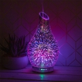 Aroma Oil Humidifier Colour Changing Lamp (Starburst)