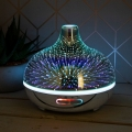 Aroma Oil Humidifier Bluetooth Speaker Lamp (Starburst)