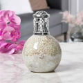 Air Purifying Wick & Flame Method Fragrance Oil Lamp (Pearl)