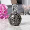 Air Purifying Wick & Flame Method Fragrance Oil Lamp (Black)