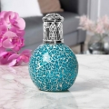 Air Purifying Wick & Flame Method Fragrance Oil Lamp (Teal)