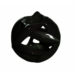Ceramic Oil Burner (Black)