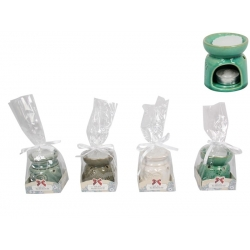 "Butterfly/""Love"" Heart Oil Burner & Wax Melt Gift Pack"