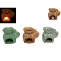 Ceramic Asian Elephant Oil Burner