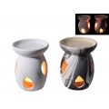 Ceramic Oil Burner with Marble Finish