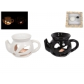 Ceramic Teapot Oil Burner & Oil Gift Pack