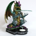 Dragon on Celtic Base Oil Burner
