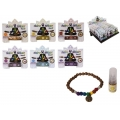 Chakra Beads Bracelet & Essential Oil Diffuser