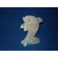 Green Onyx/Marble Stone Dolphin
