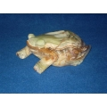 Green Onyx/Marble Stone Frog (Large)