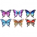 Metal Garden Butterfly Wall Art