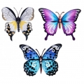 Metal Garden Butterfly Wall Art (Large)