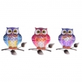 Metal Garden Owl Wall Art