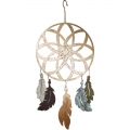 Metal Dream Catcher Wall Art