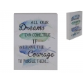"Inspirational ""Dreams"" Table Decor/Wall Plaque"