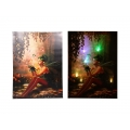 Light Up Fairy Design Canvas Plaque