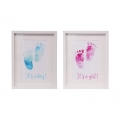 Boy/Girl Baby Feet Design Canvas Print