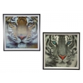 3D Tiger Plaque