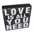 """Love Is All You Need"" Table Decor"