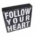 """Follow Your Heart"" Table Decor"