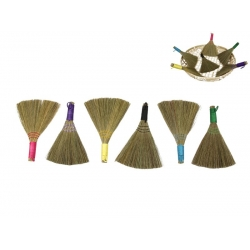 Witches/Decor Brooms & Display Bowl Pack