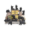 Witches Cats on Wizards Shelves Display Pack
